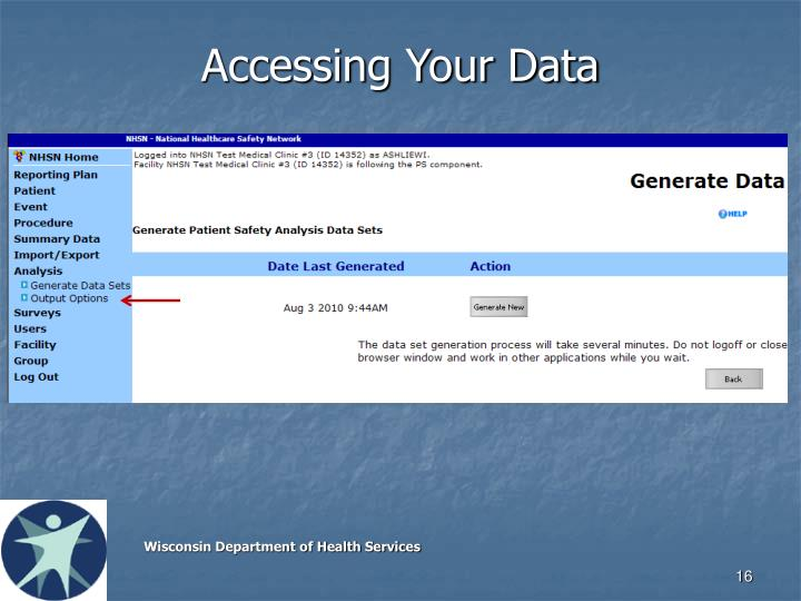 Accessing Your Data