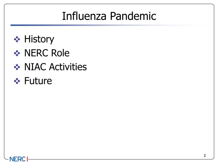Influenza pandemic1