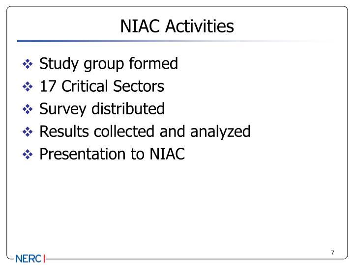 NIAC Activities