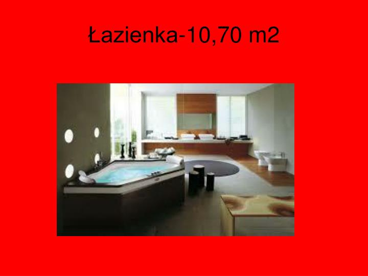 Łazienka-10,70 m2