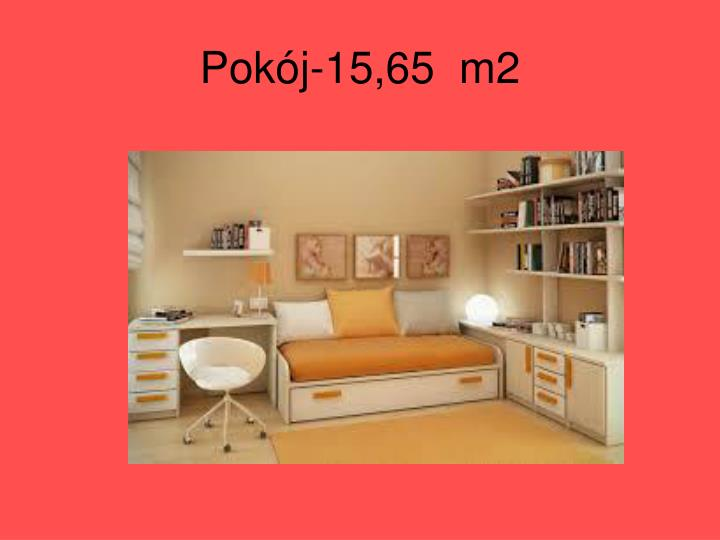 Pokój-15,65  m2