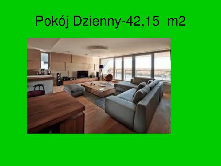 Pokój Dzienny-42,15  m2