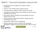 march technical exploitation beyond soa