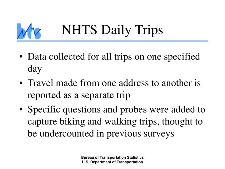 NHTS Daily Trips