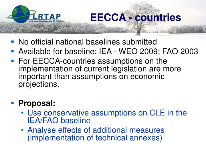 EECCA - countries