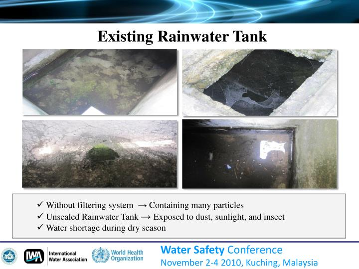 Existing Rainwater Tank