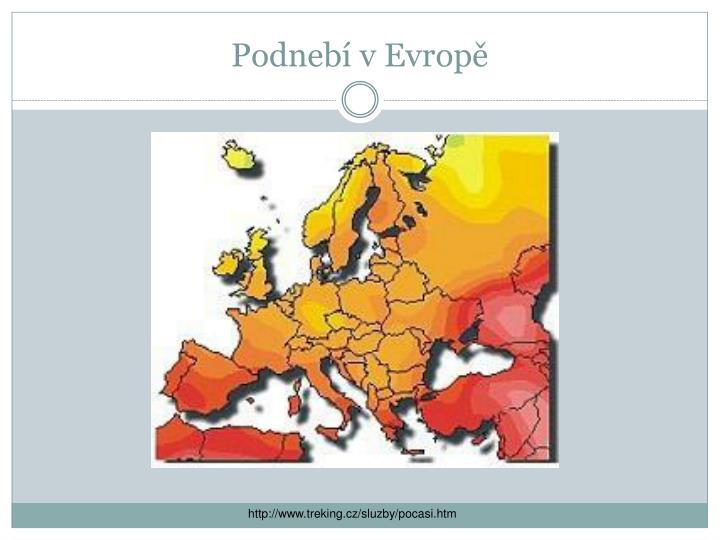 Podnebí v Evropě