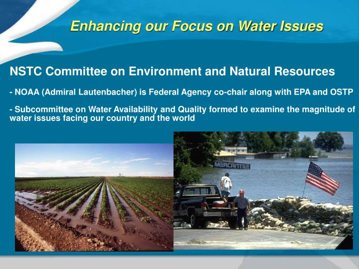 NSTC Committee on Environment and Natural Resources