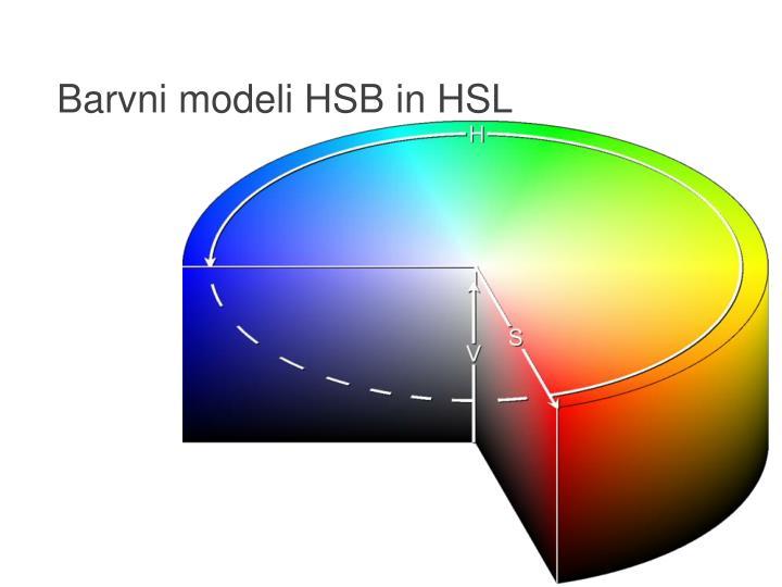 Barvni modeli HSB in HSL