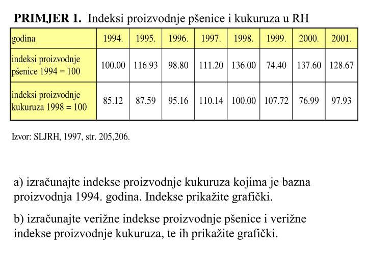 PRIMJER 1.