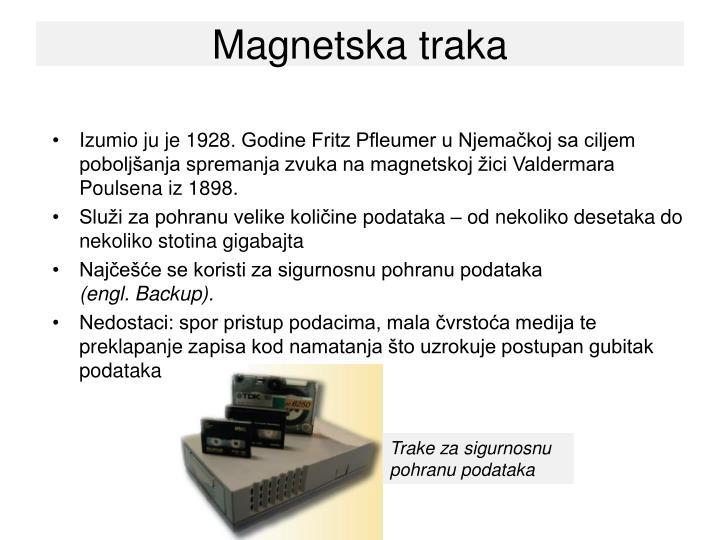 Magnetska traka