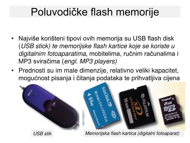 Poluvodičke flash memorije