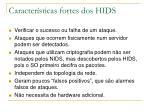 caracter sticas fortes dos hids
