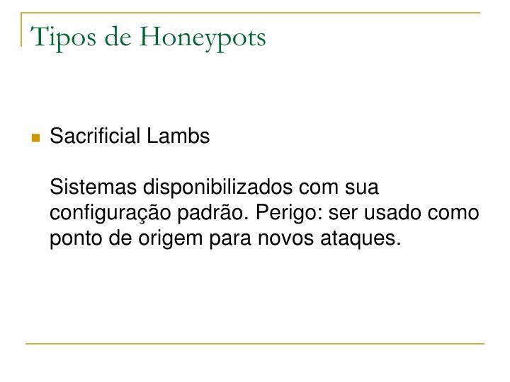 Tipos de Honeypots