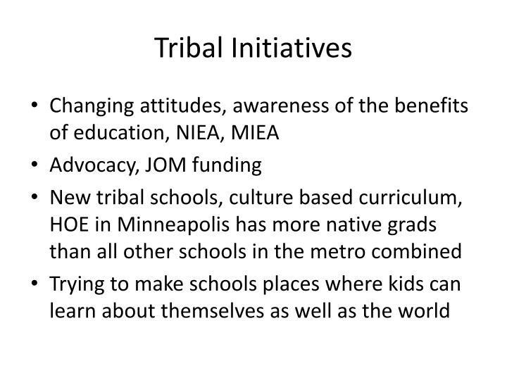 Tribal Initiatives