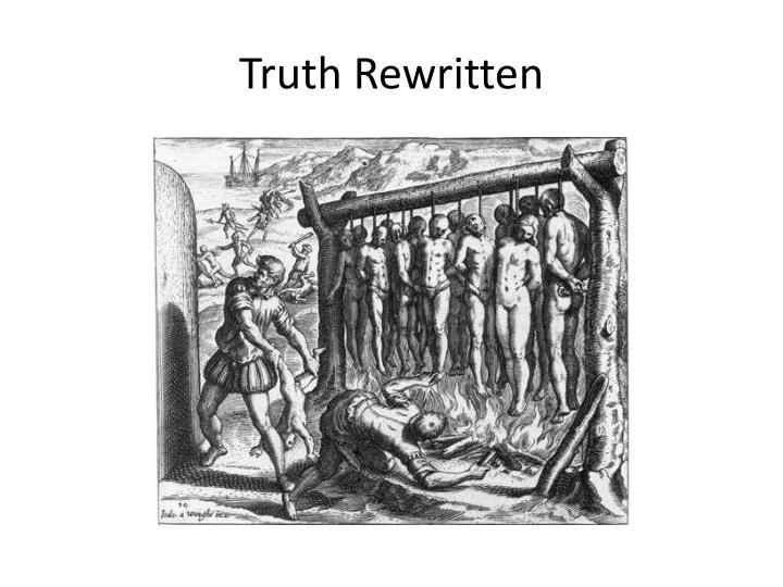 Truth Rewritten