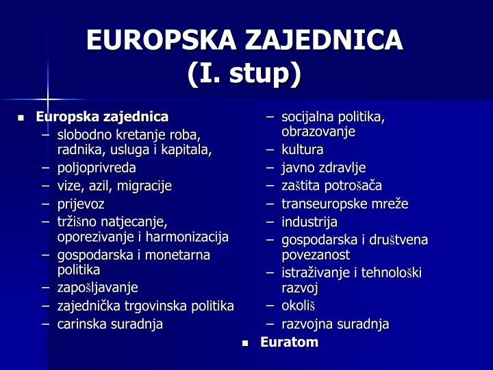 Europska zajednica