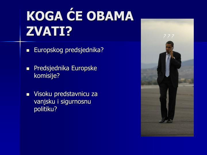 Europskog predsjednika?