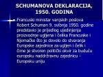 schumanova deklaracija 1950 godina