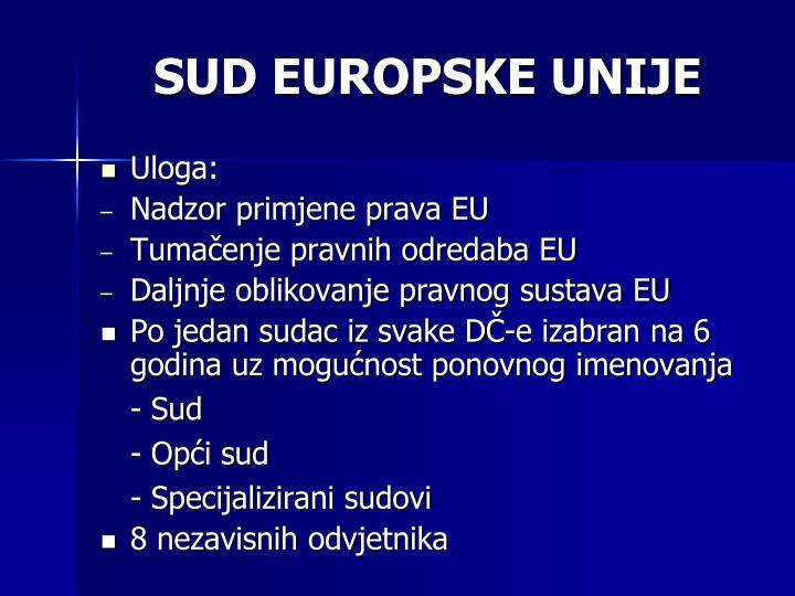SUD EUROPSKE UNIJE