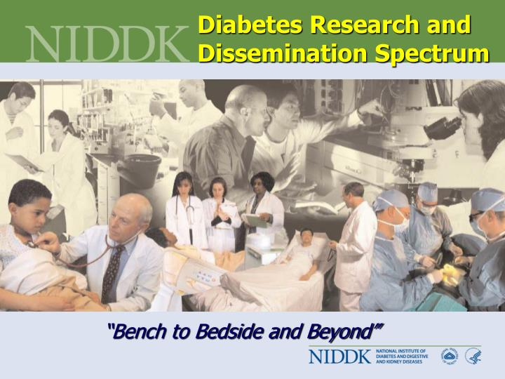 Diabetes Research and Dissemination Spectrum
