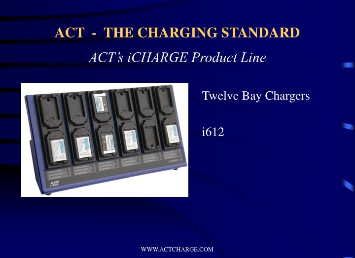 Twelve Bay Chargers