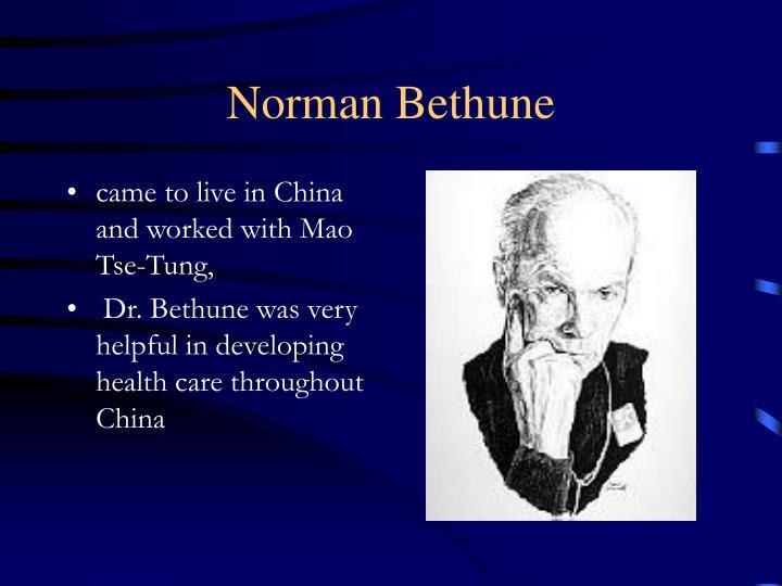 Norman Bethune