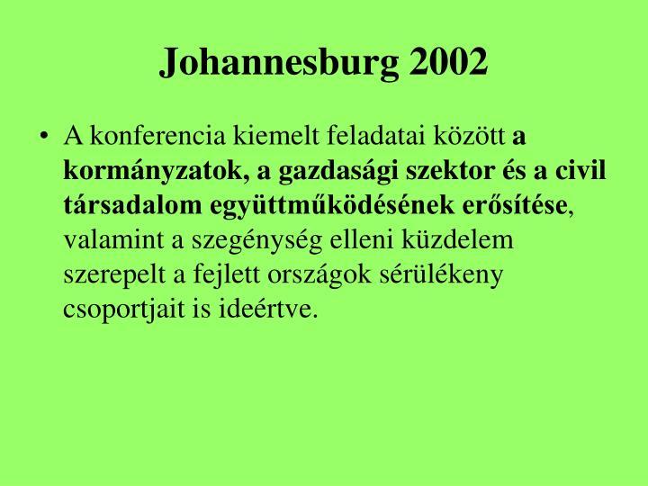 Johannesburg 2002
