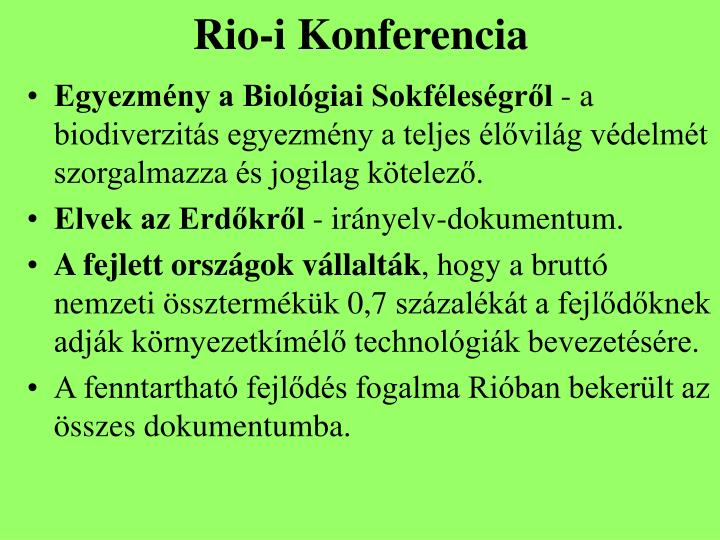 Rio-i Konferencia