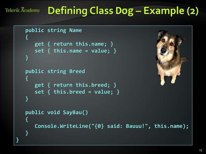 Defining Class