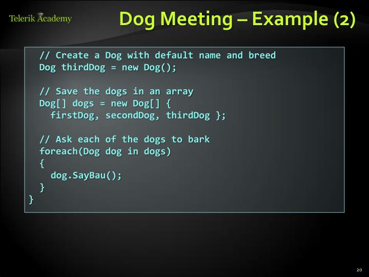 Dog Meeting