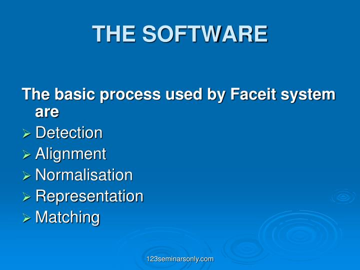 THE SOFTWARE