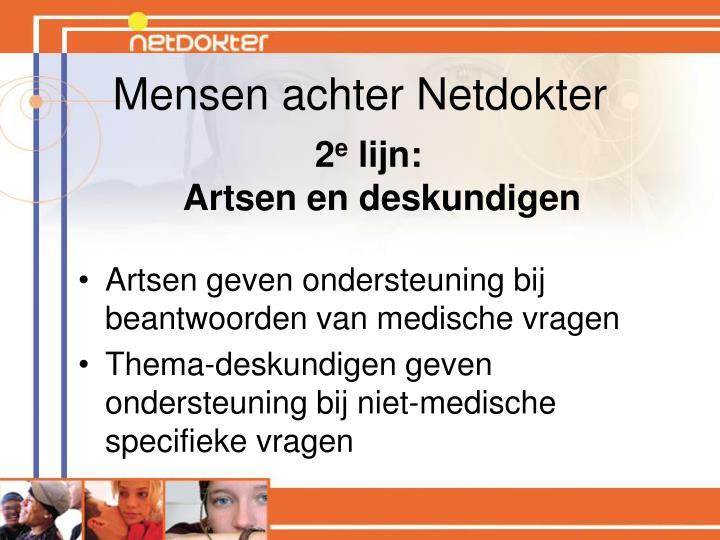 Mensen achter Netdokter