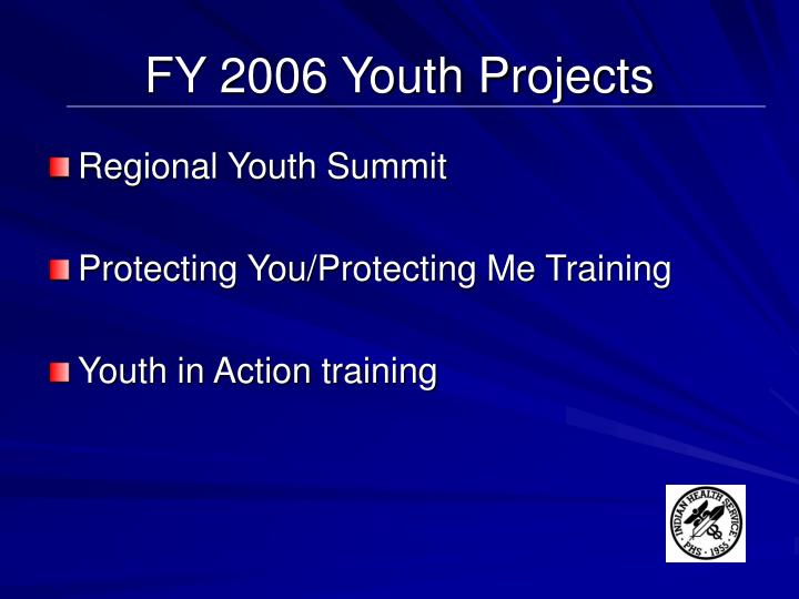 FY 2006 Youth Projects