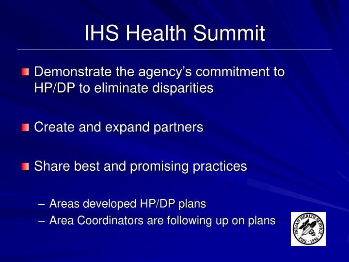 IHS Health Summit