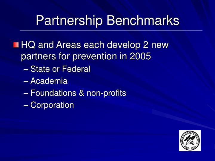 Partnership Benchmarks