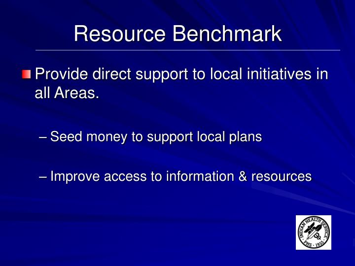 Resource Benchmark
