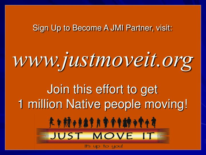 Sign Up to Become A JMI Partner, visit:
