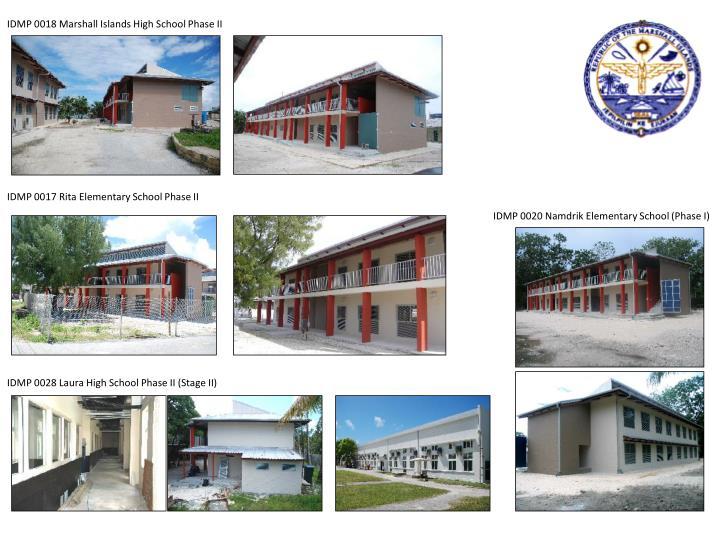 IDMP 0018 Marshall Islands High School Phase II