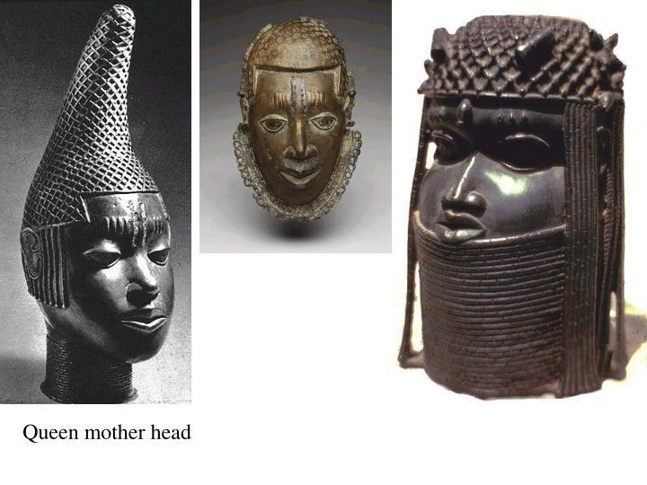 Queen mother head