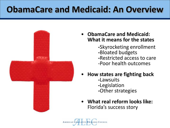 Obamacare and medicaid an overview
