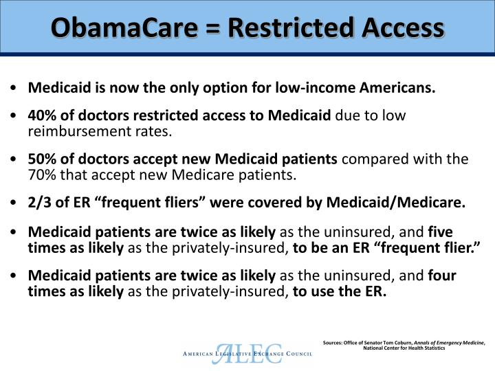 ObamaCare = Restricted Access