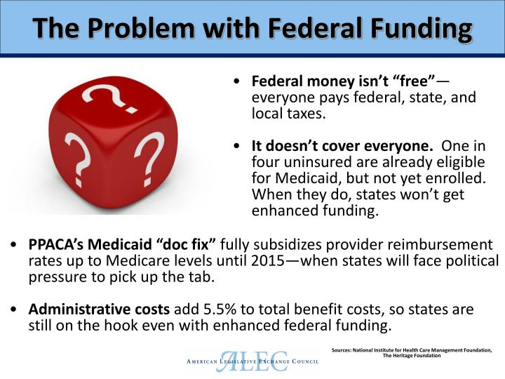 The Problem with Federal Funding