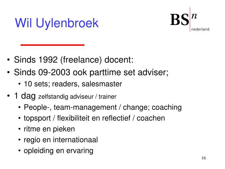 Wil Uylenbroek
