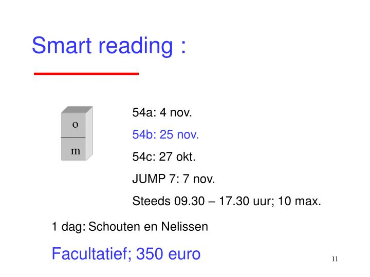 Smart reading :