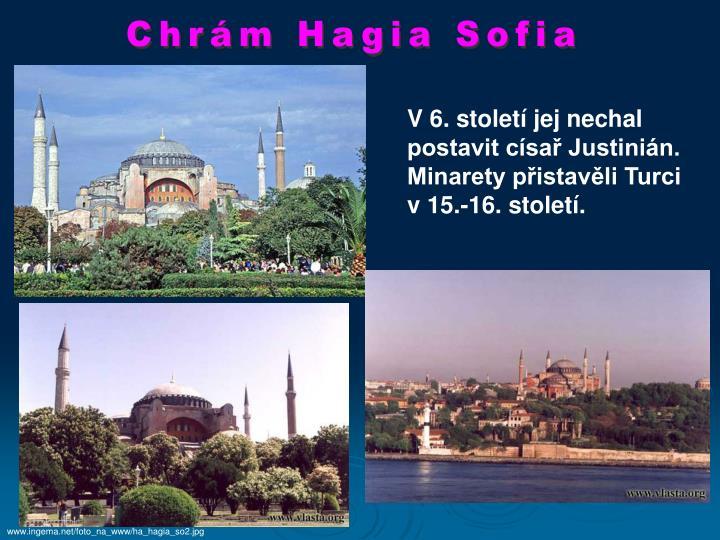 Chrám Hagia Sofia
