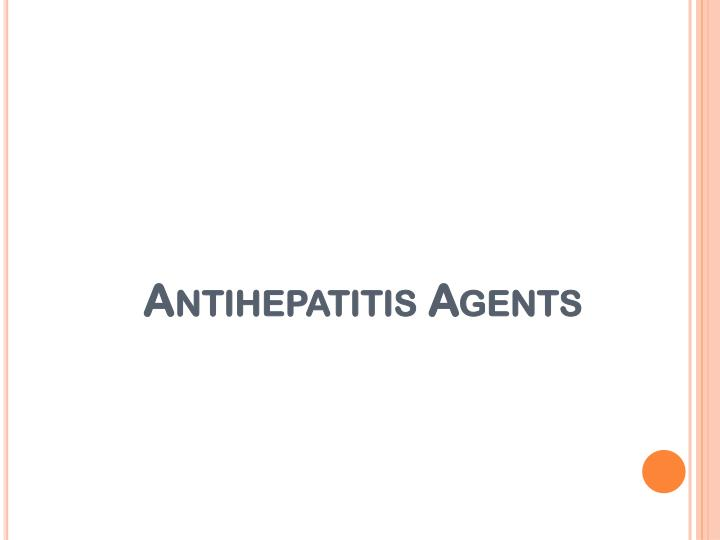 Antihepatitis