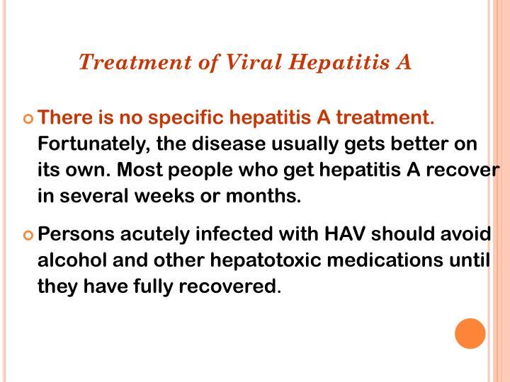 Treatment of V