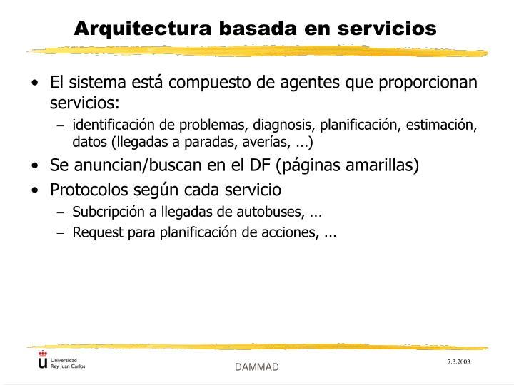 Arquitectura basada en servicios
