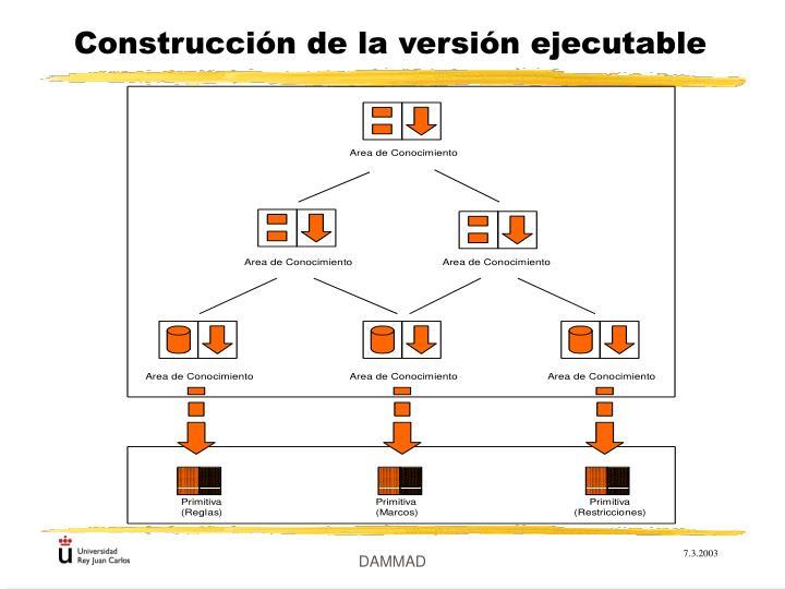 Construcción de la versión ejecutable